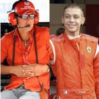 Schumi vs Rossi